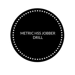 METRIC HSS JOBBER DRILL