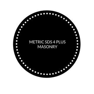 METRIC SDS 4 PLUS MASONRY