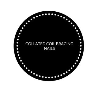 COLLATED COIL BRACING NAILS