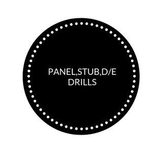 PANEL, STUB, D/E DRILLS