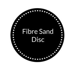 FIBRE SAND DISC