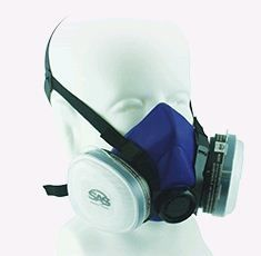 R7500 RESPIRATOR WITH 2 CARTRIDGES LRG
