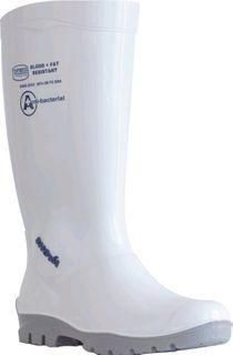 WHITE SHOVA GUMBOOT NON SAFETY SZ10