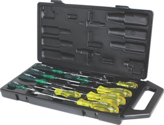 10 PIECE HEAVY DUTY SCREWDRIVER SETS