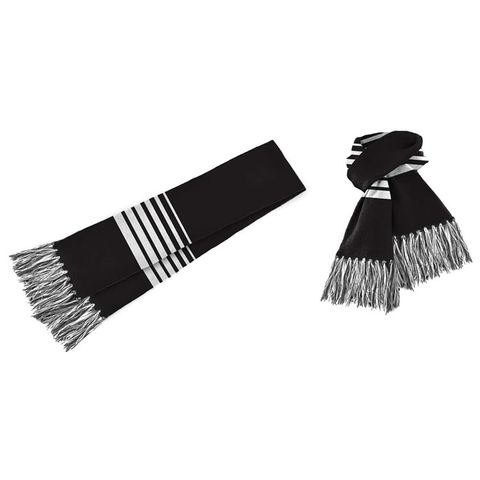 Acrylic Scarf Black/White