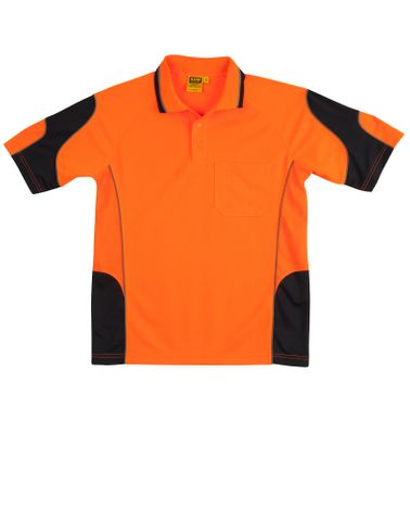 Hi-Vis Alliance Polo Org/Nvy