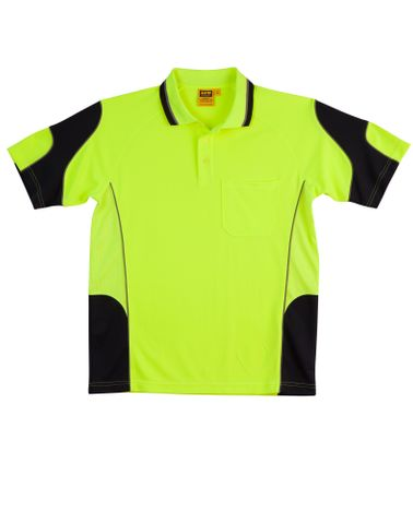 Hi-Vis Alliance Polo Ylw/Nvy