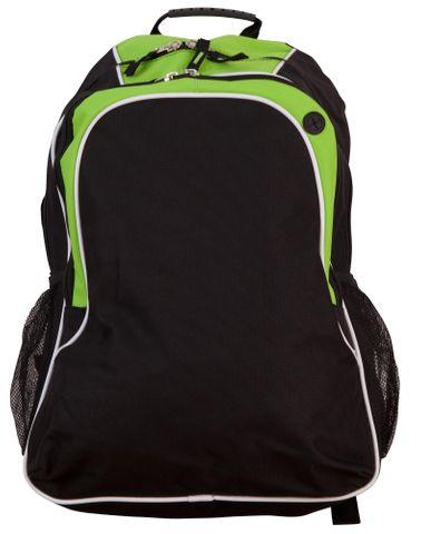Winner Backpack Blk/Wht/Lme