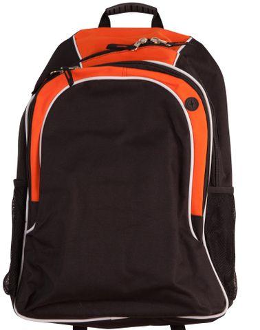 Winner Backpack Blk/Wht/Org
