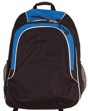 Winner Backpack Blk/Wht/Ryl