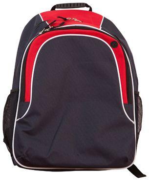 Winner Backpack Nvy/Wht/Red