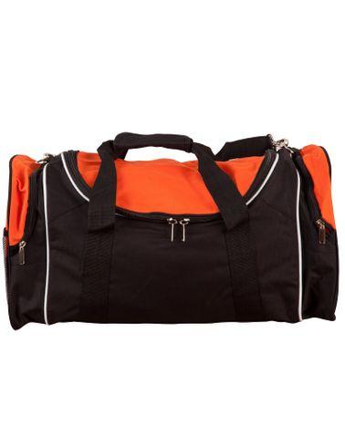 Winner Sports Bag Blk/Wht/Org