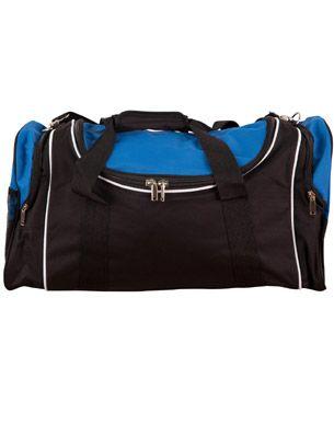 Winner Sports Bag Blk/Wht/Ryl