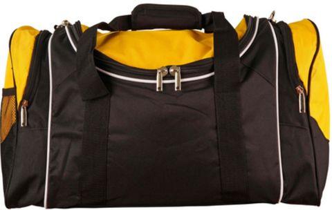 Winner Sports Bag Blk/Wht/Gld