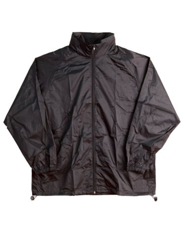 Spray Jacket Unisex Blk