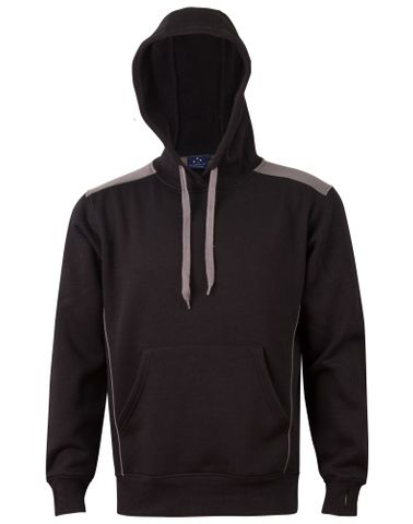 Croxton Hoodie Adults Blk/Ash