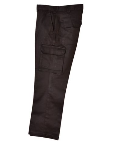 Mens Drill Pants Black