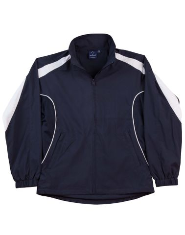 Legend Unisex Track Top Nvy/Wh