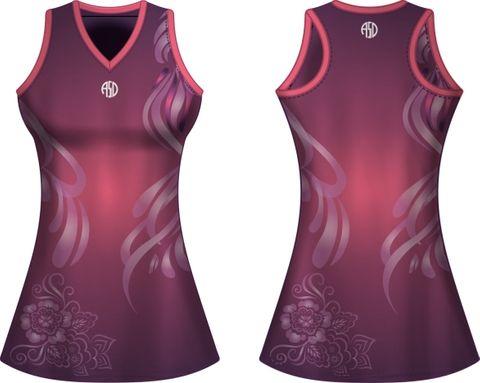 Sublimated Netball ALine Dress