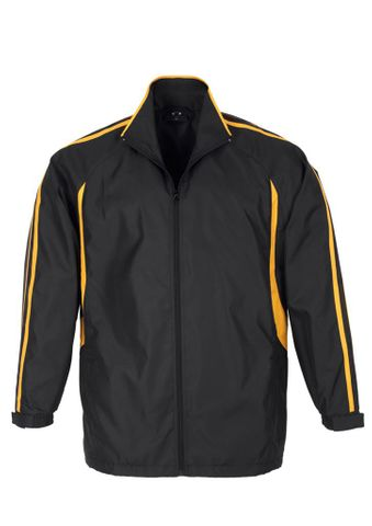 Flash Adults Track Top Blk/Gld