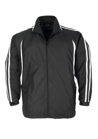Flash Adults Track Top Blk/Wht