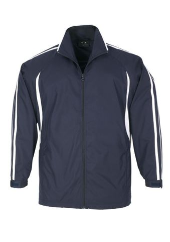 Flash Adults Track Top Nvy/Wht