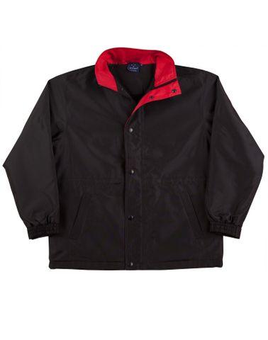 Stadium Kids Jacket Blk/Red