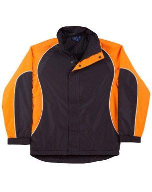 Arena Unisex Jacket Blk/Wht/Or