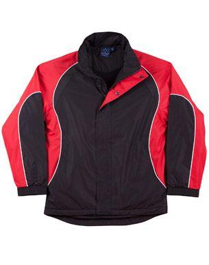 Arena Unisex Jacket Blk/Wht/Re