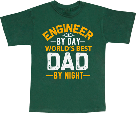 Engineer Dad  T-shirt