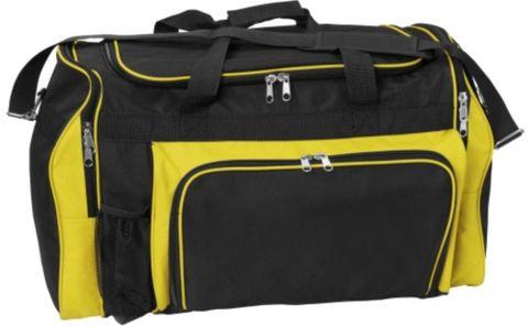 Classic Sports Bag Black/Yello