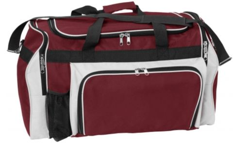 Classic Sports Bag Mrn/Wht