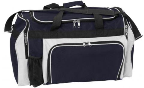 Classic Sports Bag Navy/White