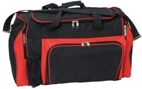 Classic Sports Bag Black/Red