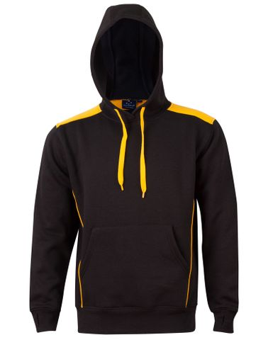 Croxton Hoodie Adults Blk/Gld