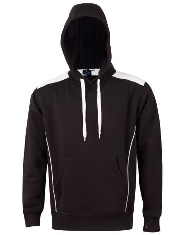 Croxton Hoodie Adults Blk/Wht