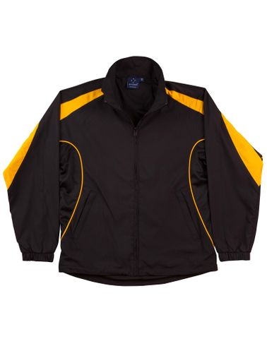 Legend Kids Track Top Blk/Gld