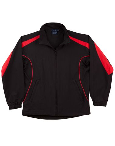 Legend Kids Track Top Blk/Red