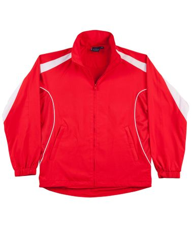 Legend Unisex Track Top Red/Wh
