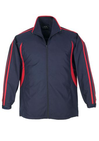 Flash Adults Track Top Nvy/Red