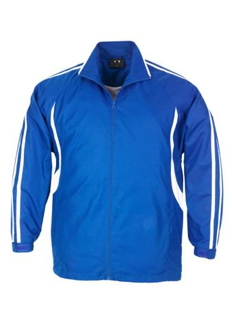 Flash Adults Track Top Ryl/Wht