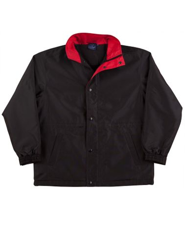 Stadium Unisex Jacket Blk/Red