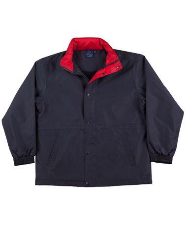 Stadium Unisex Jacket Nvy/Red