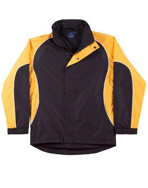 Arena Unisex Jacket Blk/Wht/Gl