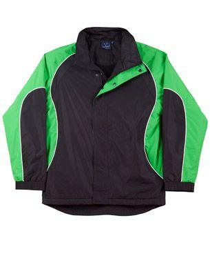 Arena Unisex Jacket Blk/Wht/Gr