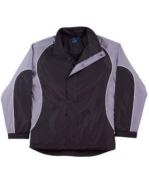 Arena Unisex Jacket Blk/Wht/Gy