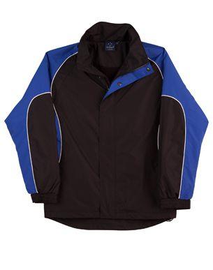 Arena Unisex Jacket Blk/Wht/Ry