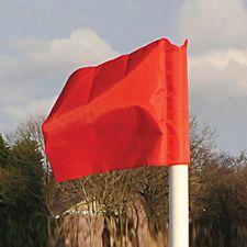Corner Post Flag Red