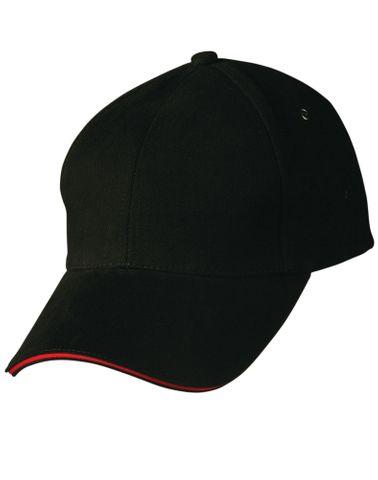 Sandwich Peak Cap Blk/Red