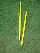 2 Piece Agility Pole Yellow